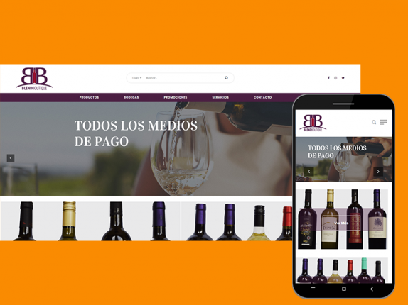 Blend-Boutique-Sitio-Web