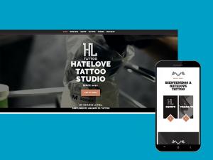 HateLove Sitio Web